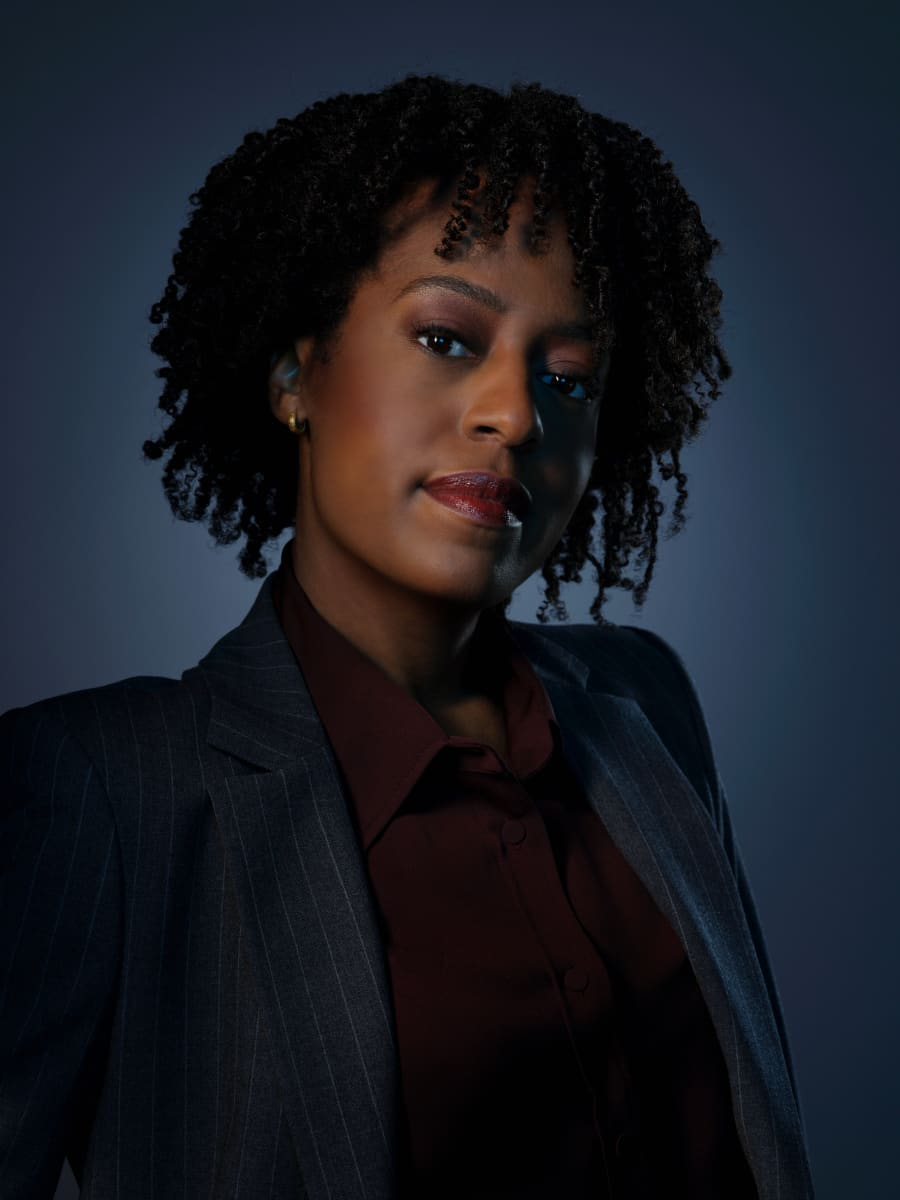 Pictured Devyn Tyler as Ardelia Mapp in CLARICE on the CBS Television Network. Photo: Brooke Palmer ©2020 CBS Broadcasting Inc. All Rights Reserved