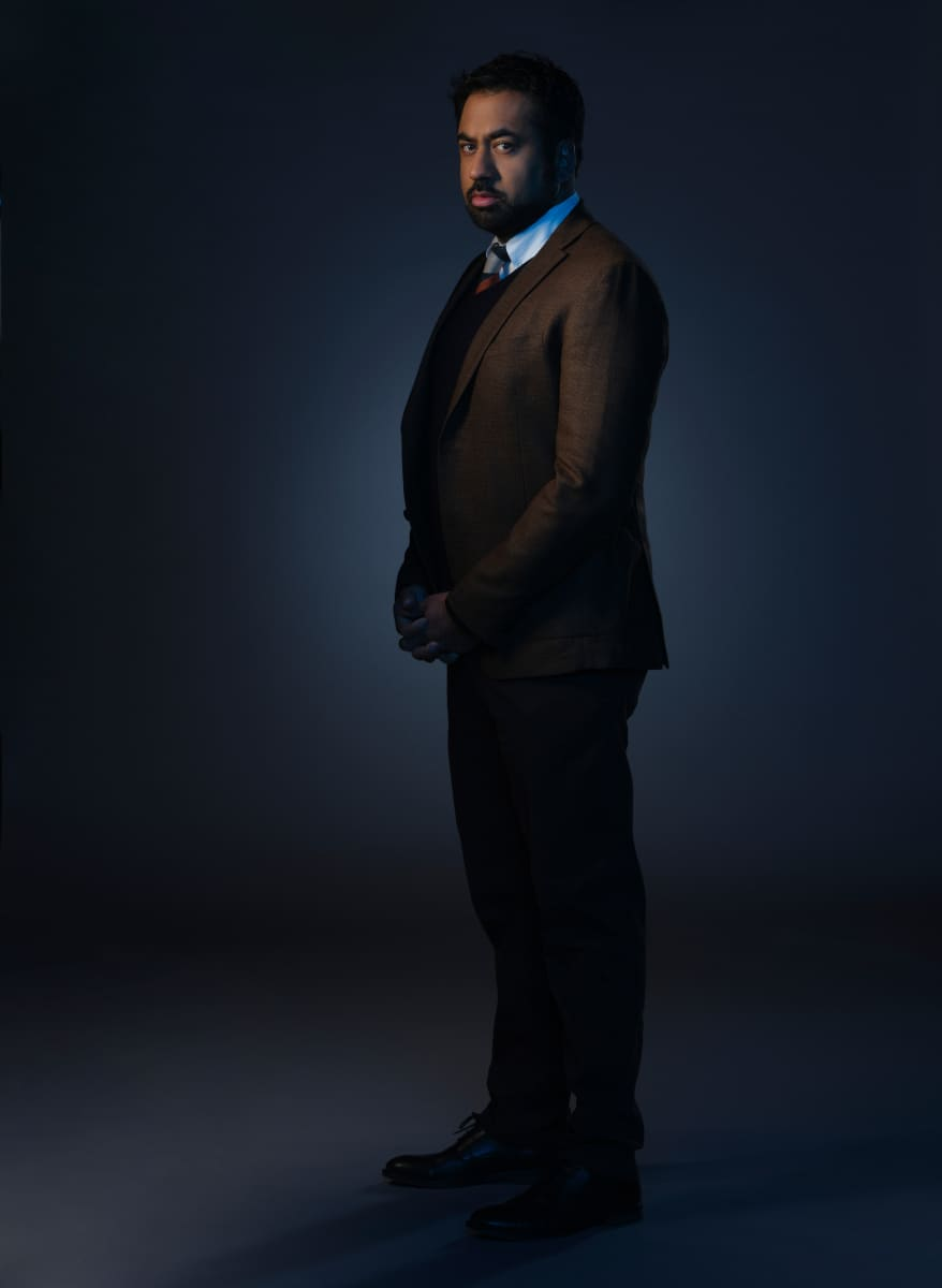 Pictured Kal Penn as Shaan Tripathi in CLARICE on the CBS Television Network. Photo: Brooke Palmer ©2020 CBS Broadcasting Inc. All Rights Reserved
