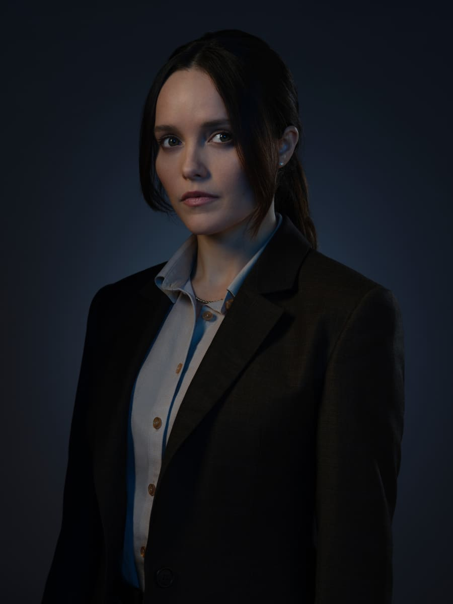 Pictured Rebecca Breeds as Clarice Starling in CLARICE on the CBS Television Network. Photo: Brooke Palmer ©2020 CBS Broadcasting Inc. All Rights Reserved