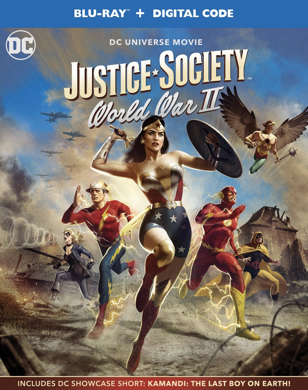 JusticeSociety WWII 1000783437 BD OSLV 2D TEMP DOM SKEW