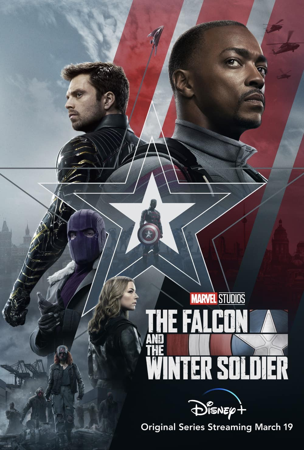 The Falcon And The Winter Soldier Poster Key Art
