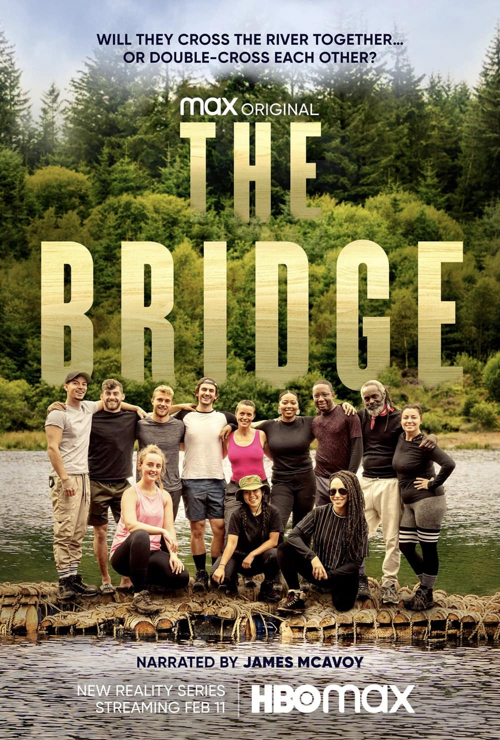 HBO Max The Bridge Poster Key Art