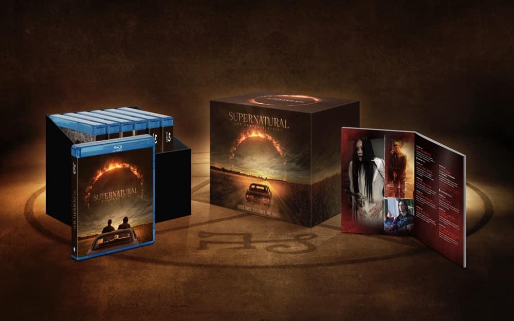 Supernatural Complete Series BD Artwork