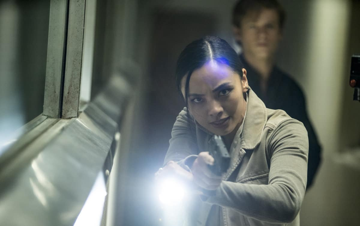 Levy Tran as Desi Nguyen MacGyver Season 5 Episode 8