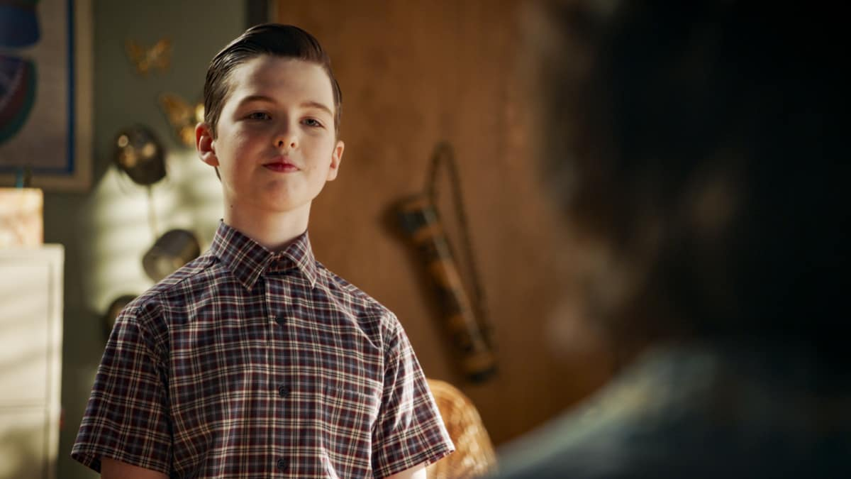 YOUNG SHELDON Season 4 Episode 7 A Philosophy Class and Worms That Can Chase You