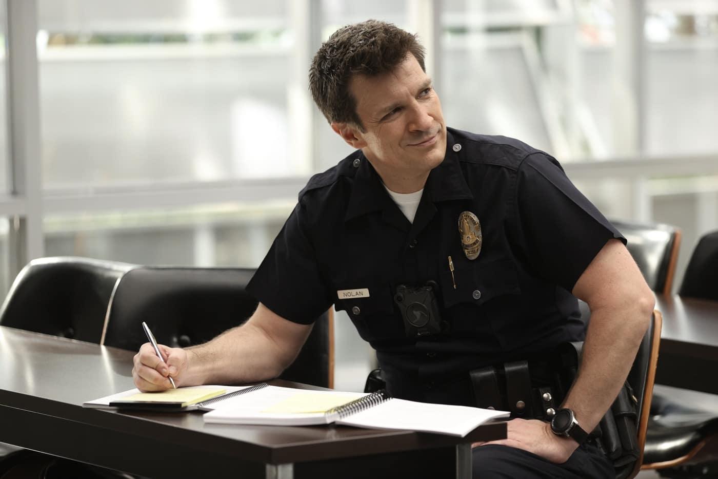 THE ROOKIE Season 3 Episode 5 Lockdown NATHAN FILLION