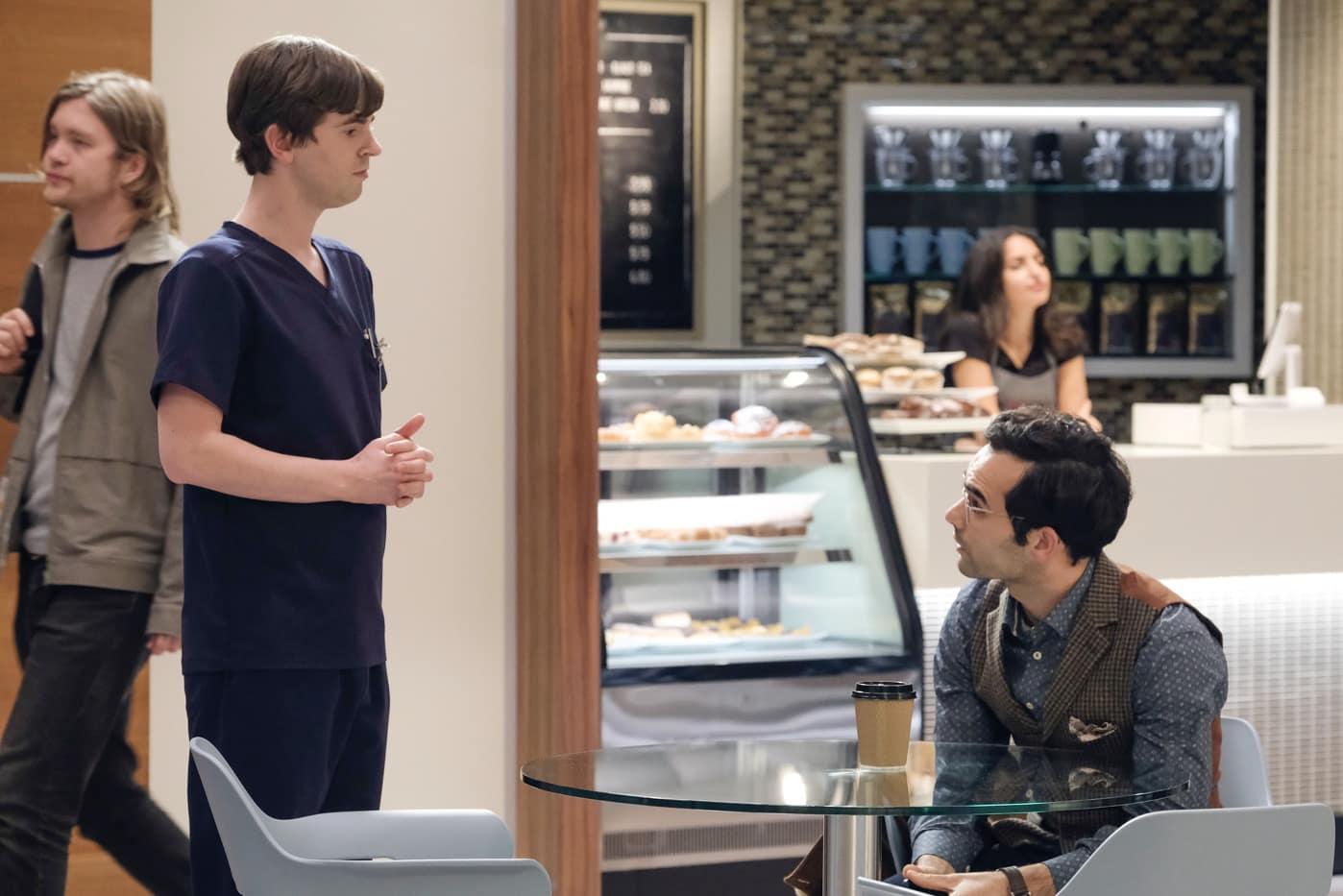 THE GOOD DOCTOR Season 4 Episode 9 FREDDIE HIGHMORE, JOHNATHAN SOUSA