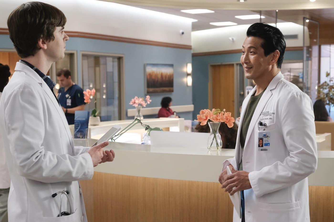 THE GOOD DOCTOR Season 4 Episode 9 FREDDIE HIGHMORE, WILL YUN LEE