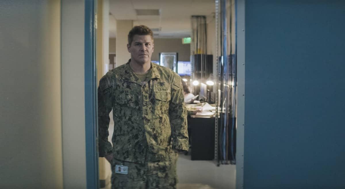"Seal Team Season 4 Episode 7 ""All In"" – David Boreanaz as Jason Hayes."