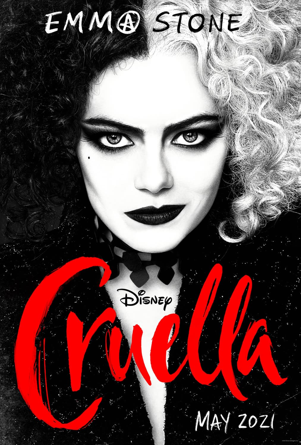 CRUELLA Emma Stone Movie Poster