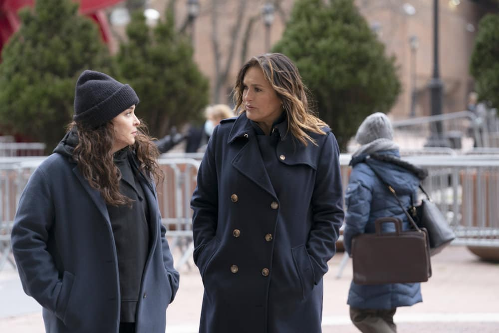 LAW AND ORDER SVU Season 22 Episode 7 Photos Hunt, Trap, Rape, And Release