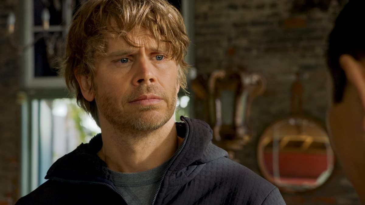 """NCIS Los Angeles Season 12 Episode 11 """"Russia, Russia, Russia"""" - Pictured: Eric Christian Olsen (LAPD Liaison Marty Deeks)"""