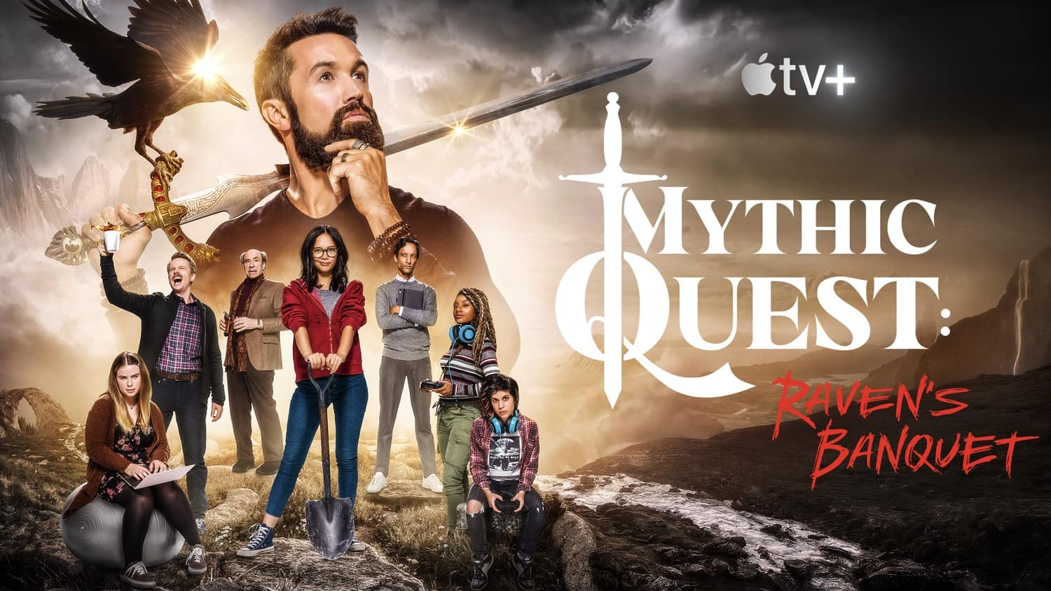 Apple TV Mythic Quest key art 01 16 9