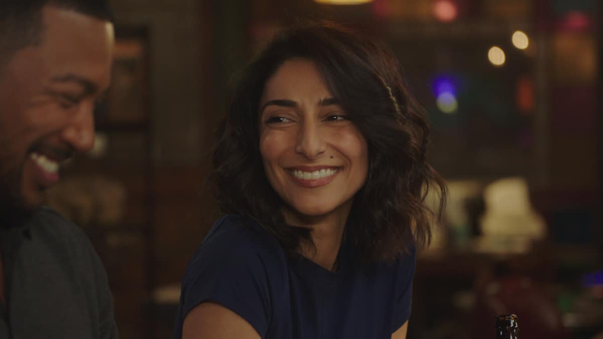 NCIS New Orleans Season 7 Episode 9 Into Thin Air Pictured L-R: Charles Michael Davis as Special Agent Quentin Carter and Necar Zadegan as Special Agent Hannah Khoury