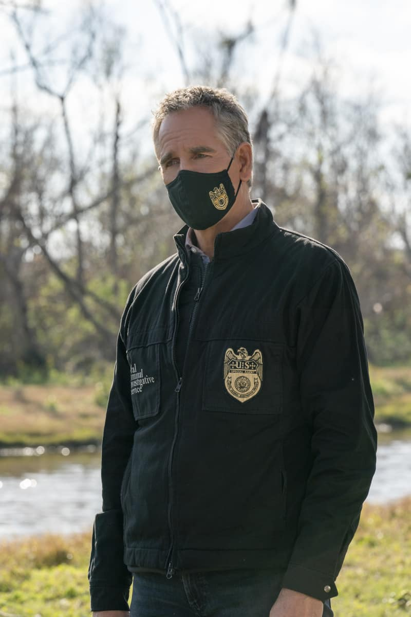 NCIS New Orleans Season 7 Episode 9 Into Thin Air Pictured: Scott Bakula as Special Agent Dwayne Pride Photo: Sam Lothridge/CBS ©2021 CBS Broadcasting, Inc. All Rights Reserved.