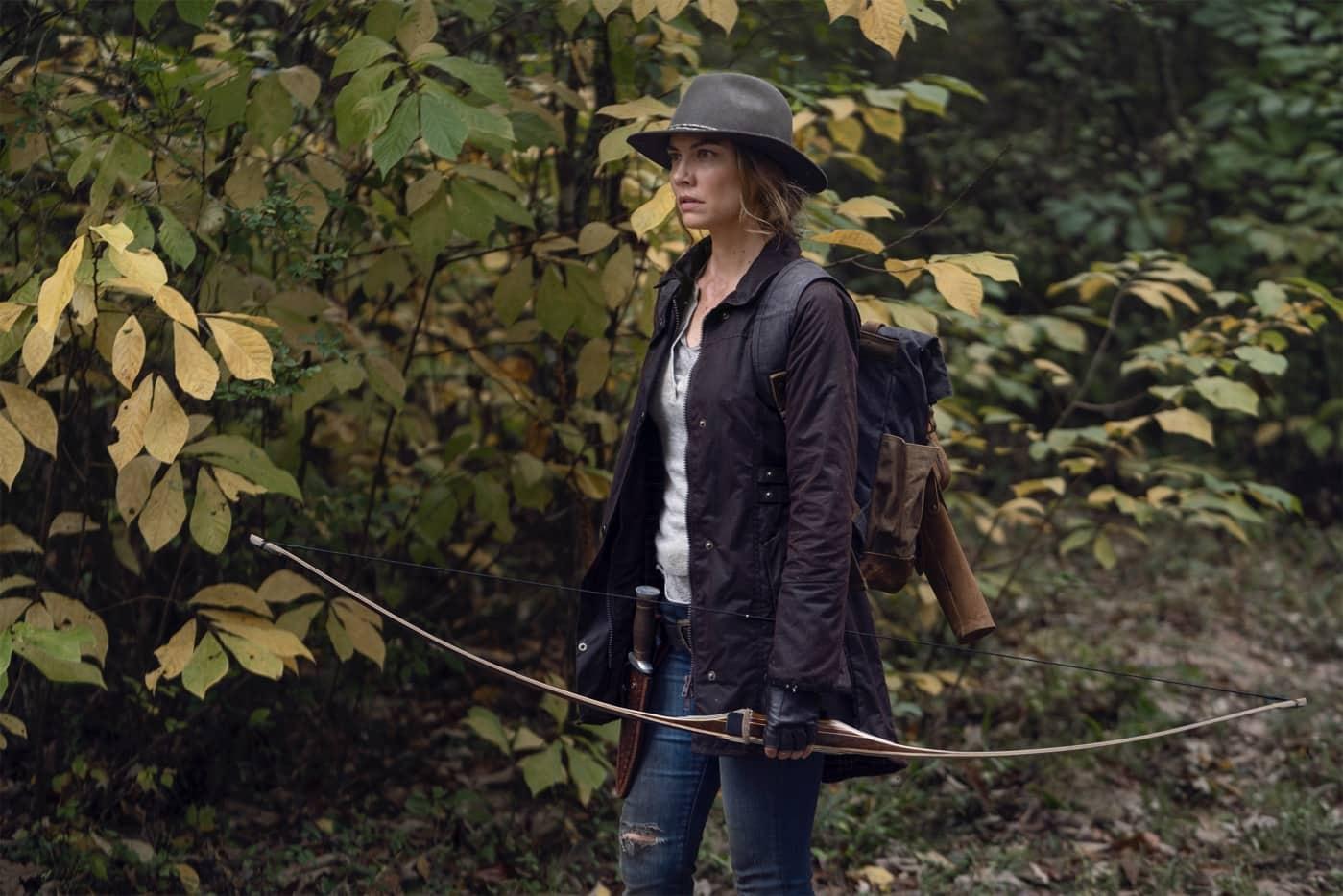 Lauren Cohan as Maggie - The Walking Dead _ Season 10, Episode 17 - Photo Credit: Eli Ade/AMC