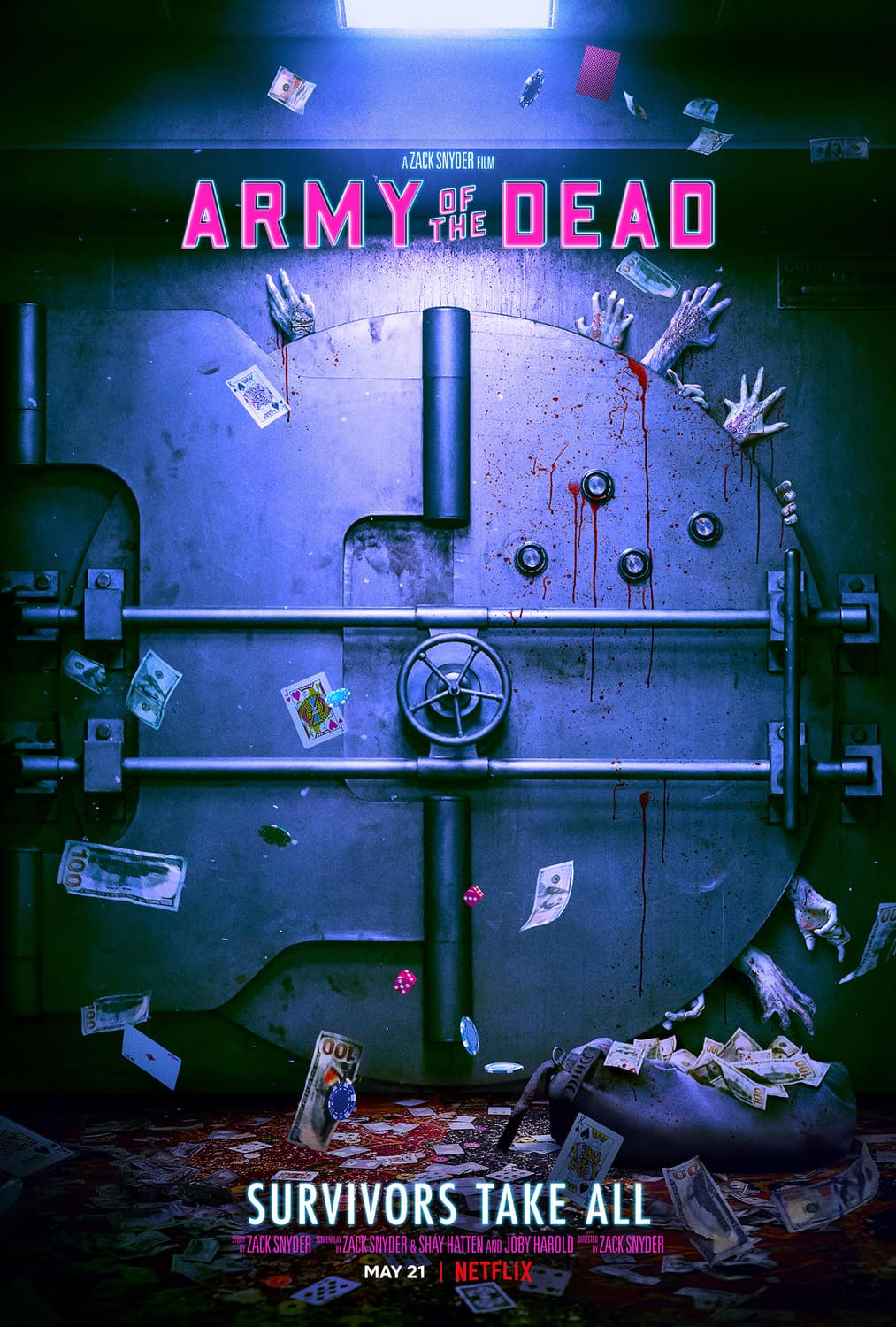 Army Of The Dead Movie Poster Netflix