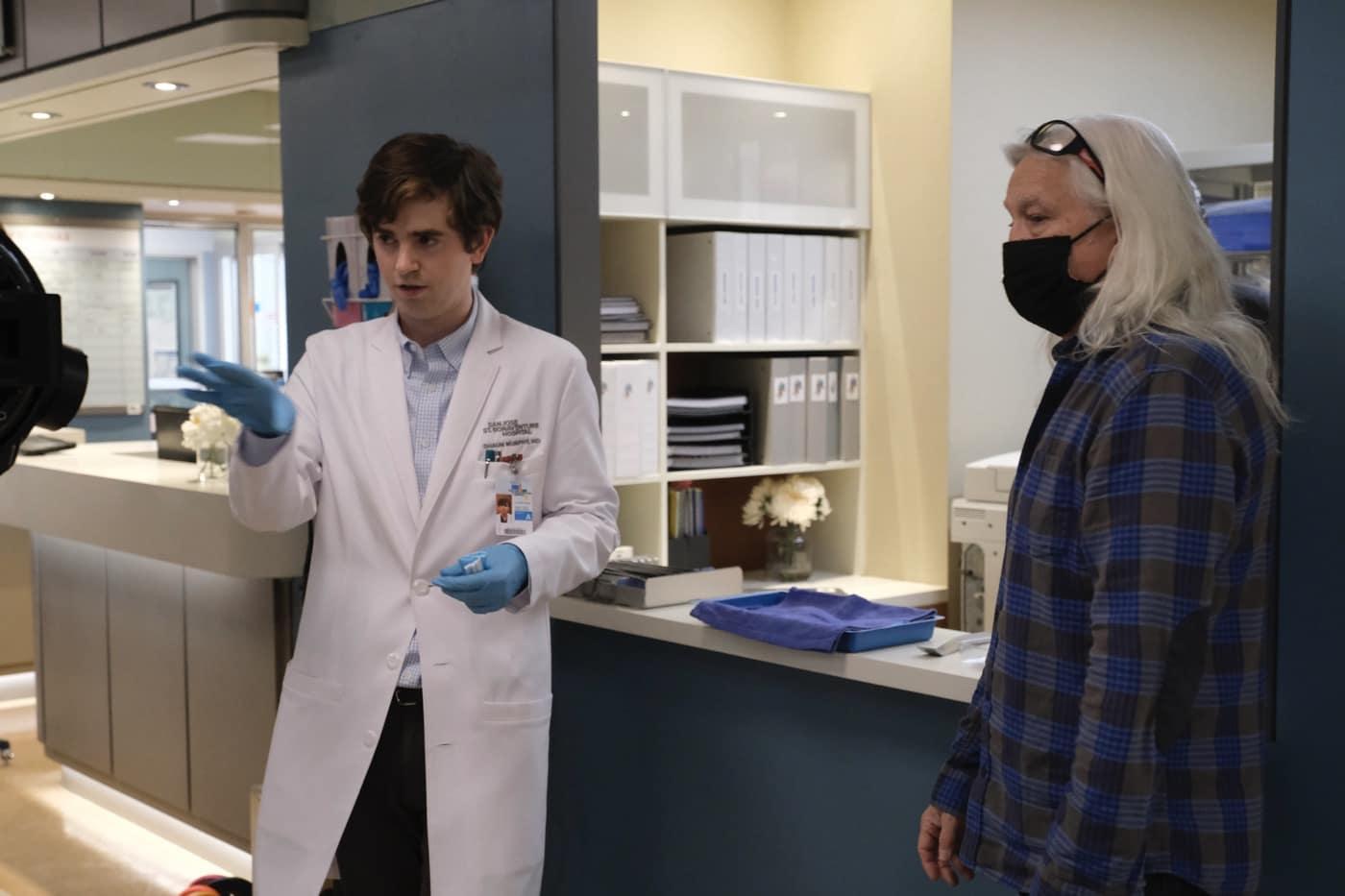 THE GOOD DOCTOR Season 4 Episode 10 Photos Decrypt FREDDIE HIGHMORE