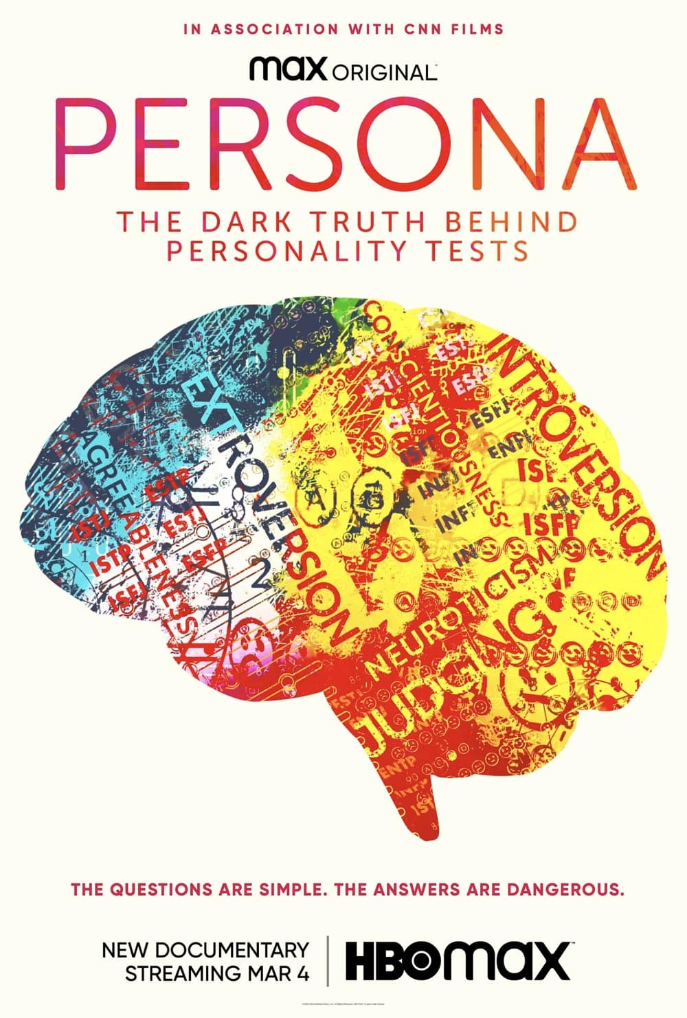PERSONA THE DARK TRUTH BEHIND PERSONALITY TESTS Poster HBO Max