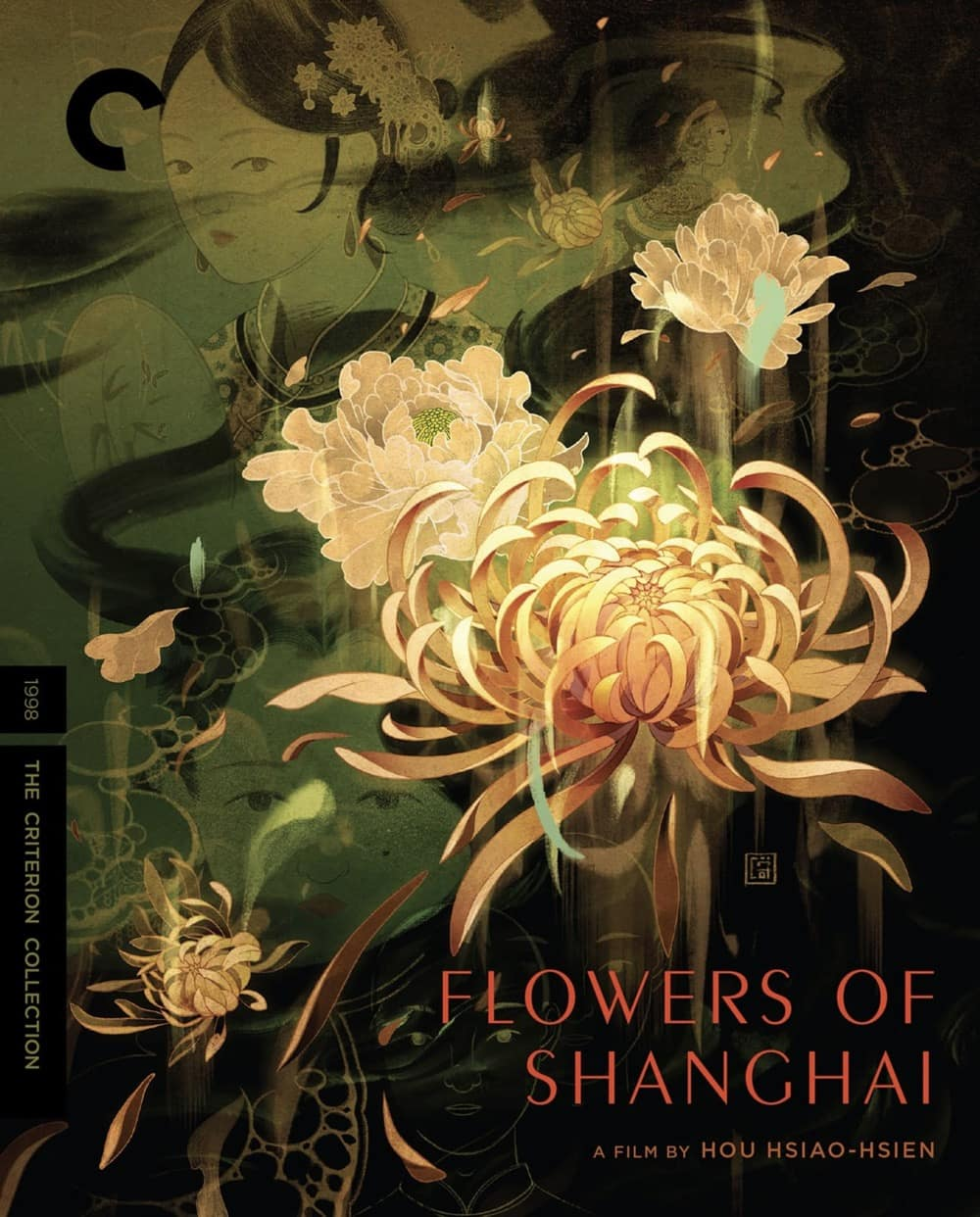 Flowers Of Shanghai Criterion Collection Bluray Cover