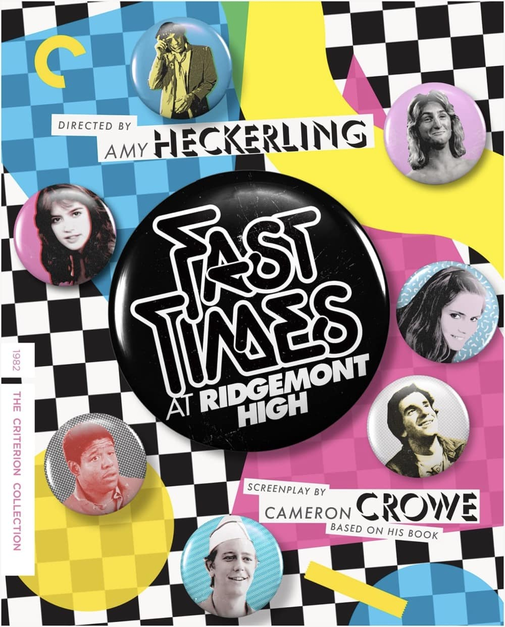 Fast Times At Ridgemont High - The Criterion Collection Blu-ray Cover