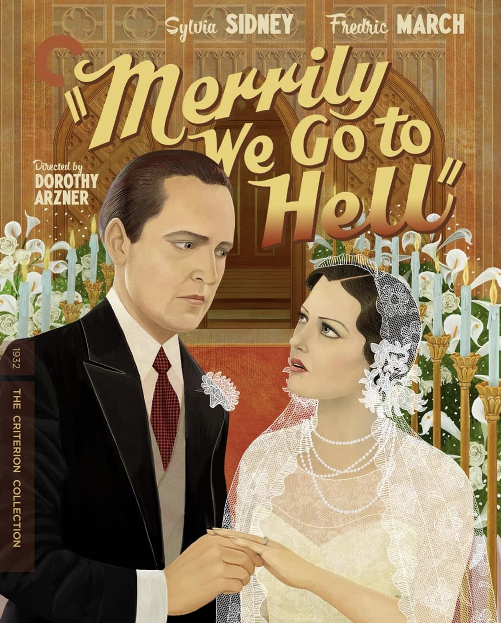 Merrily We Go To Hell - The Criterion Collection Blu-ray Cover