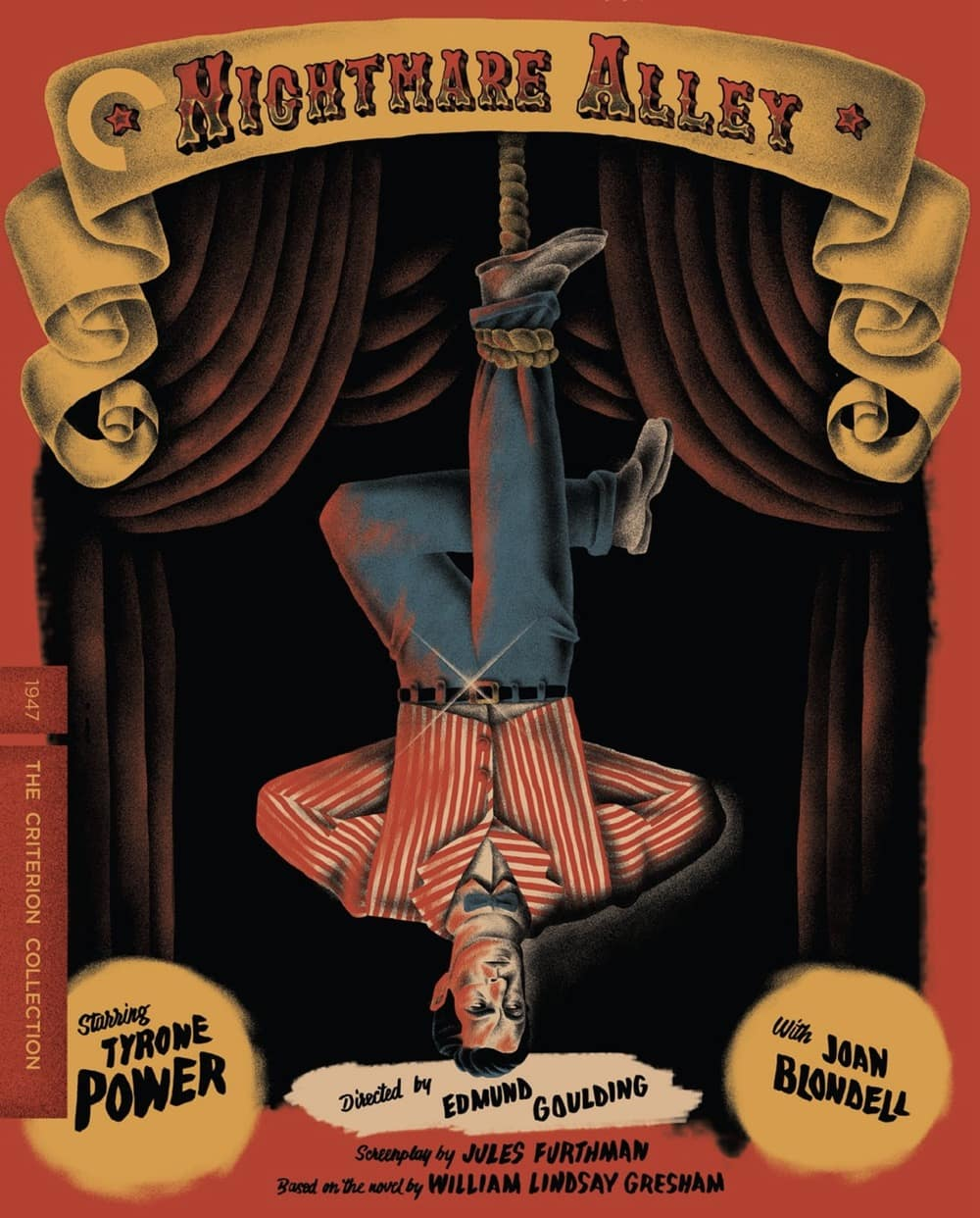 Nightmare Alley - The Criterion Collection Blu-ray Cover