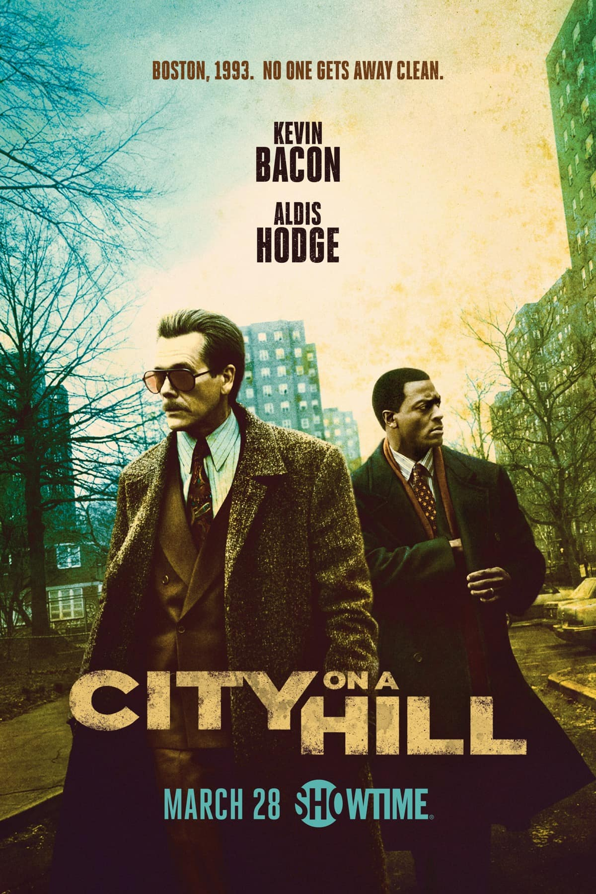 CITY ON A HILL Season 2 Poster Key Art