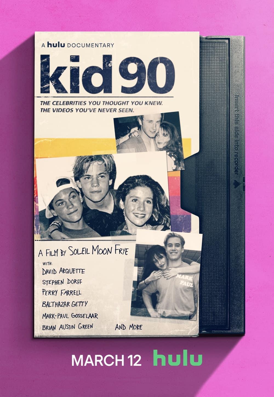 Kid 90 KeyArt Poster Hulu