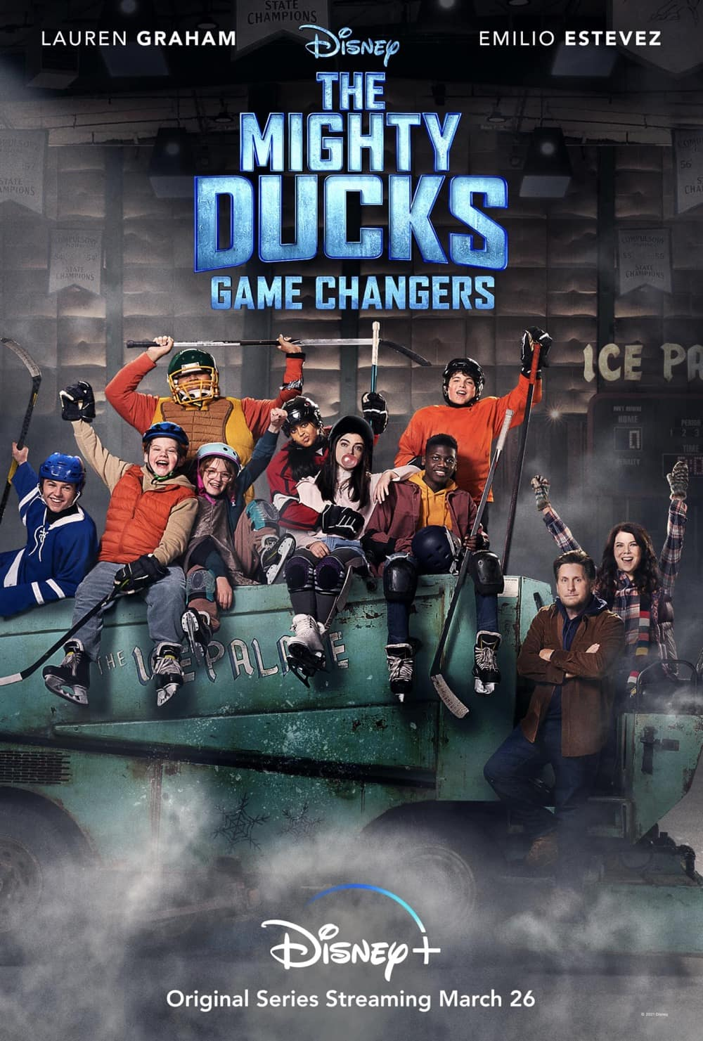 The Mighty Ducks Game Changers Poster Key Art | Disney+
