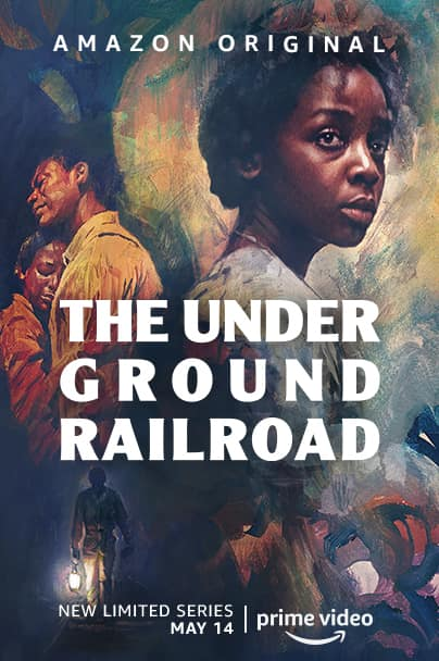 The Underground Railroad Key Art Poster Amazon Prime Video