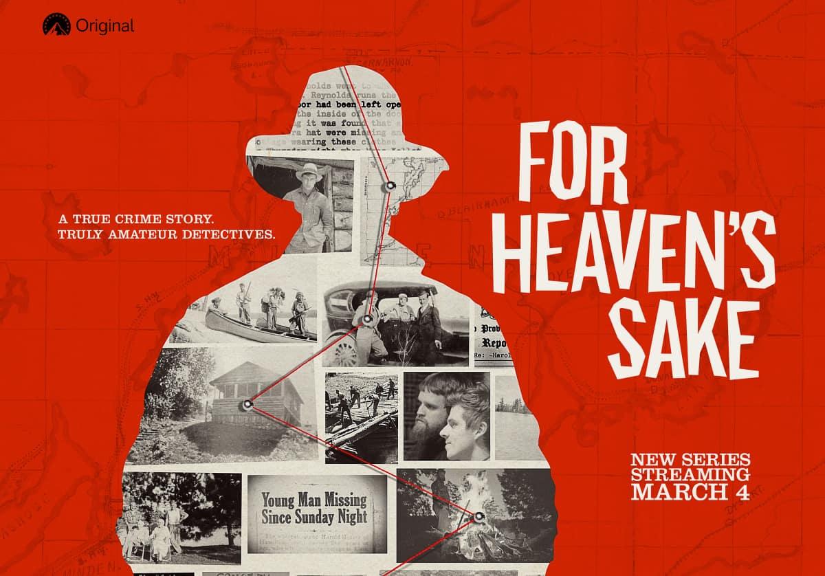 FOR HEAVEN'S SAKE Paramount+
