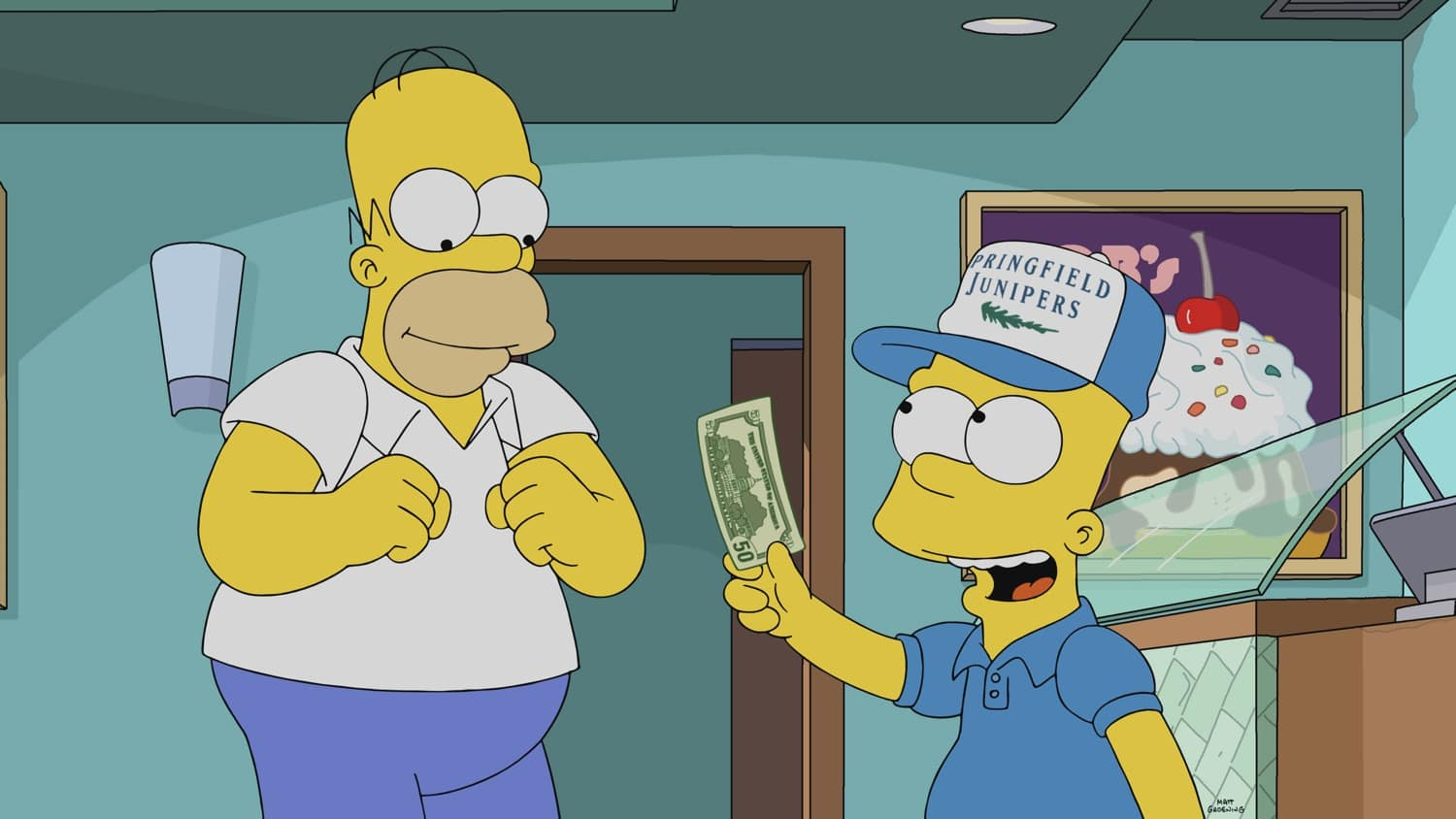 THE SIMPSONS Season 32 Episode 13 Photos Wad Goals