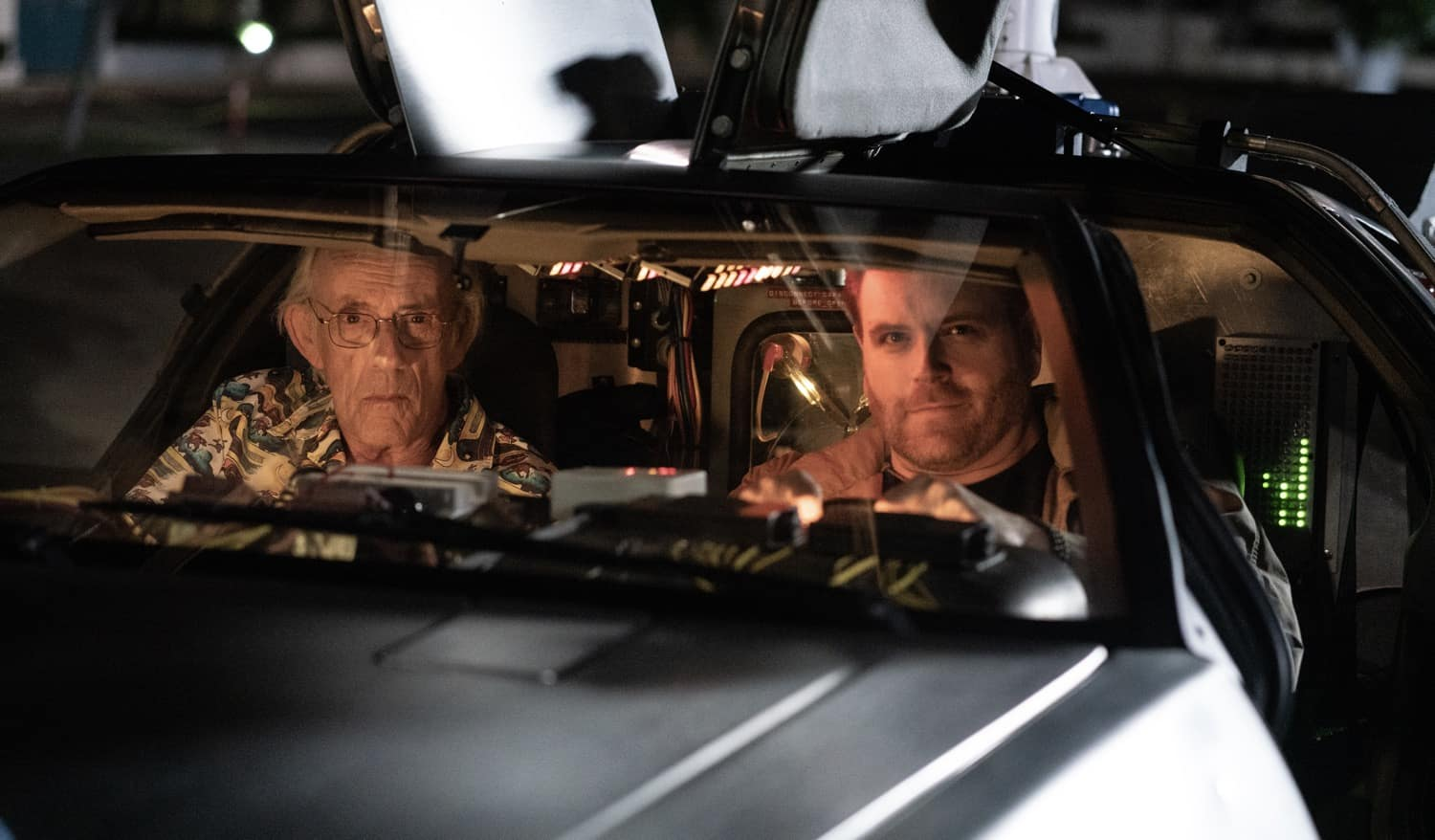 Christopher Lloyd and Josh Gates Search for The DeLorean Time Machine in 'Expedition: Back to the Future'