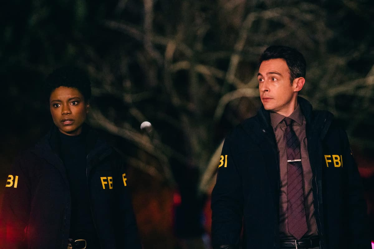 """FBI Season 3 Episode 7 """"Discord"""" - Pictured (L-R) Katherine Renee Turner as Special Agent Tiffany Wallace and John Boyd as Special Agent Stuart Scol"""
