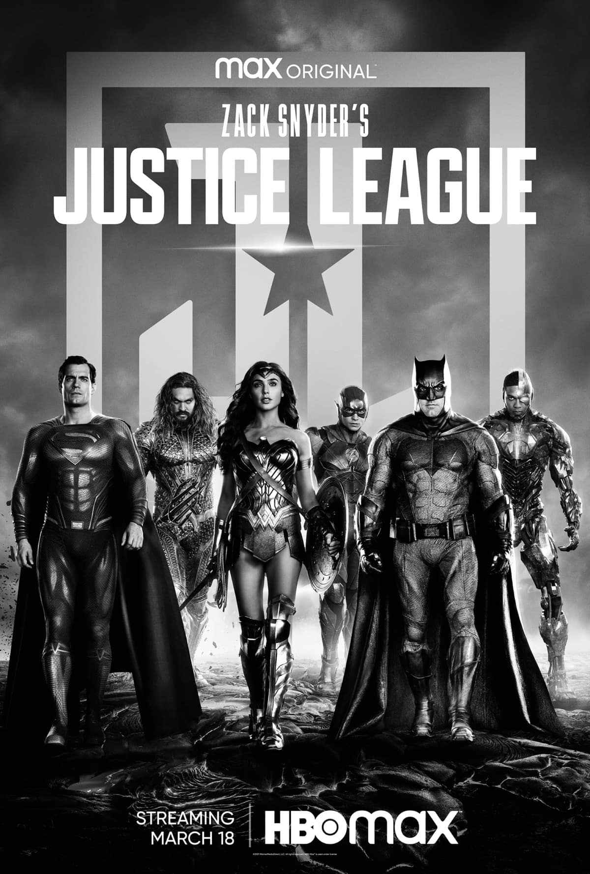 Zack Snyder Justice League Poster Key Art