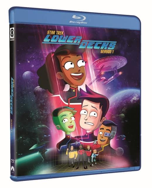 Star Trek Lower Decks Season 1 Blu-ray Cover