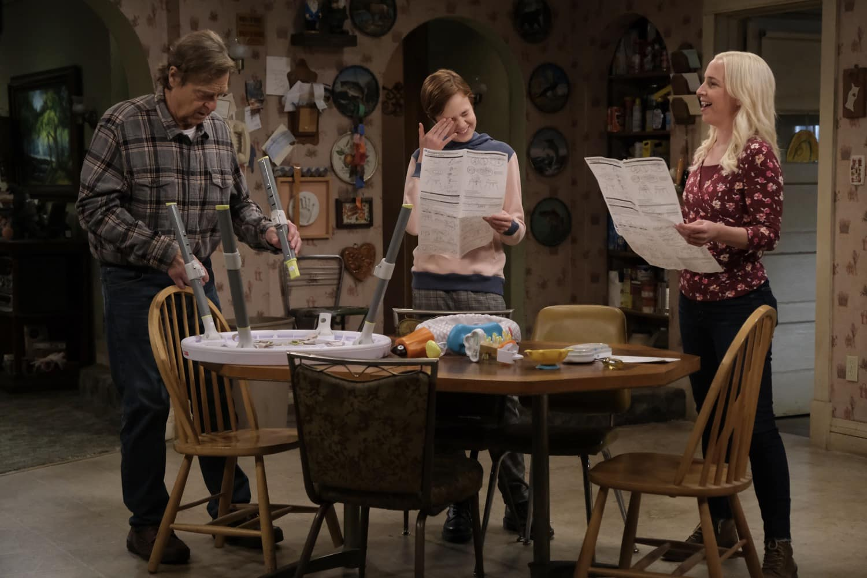 THE CONNERS Season 3 Episode 12 Photos A Stomach Ache, A Heartbreak And A Grave Mistake JOHN GOODMAN, EMMA KENNEY, LECY GORANSON