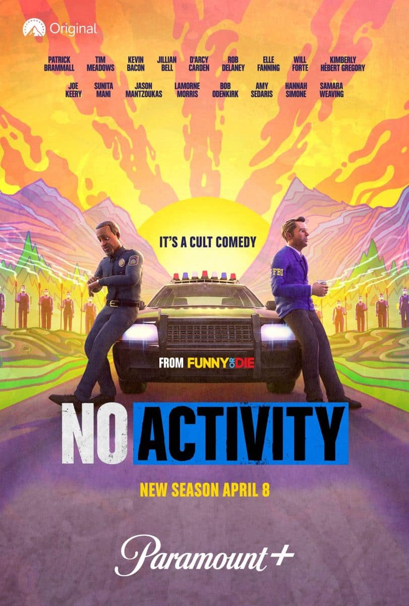 NO ACTIVITY Season 4 Poster Key Art