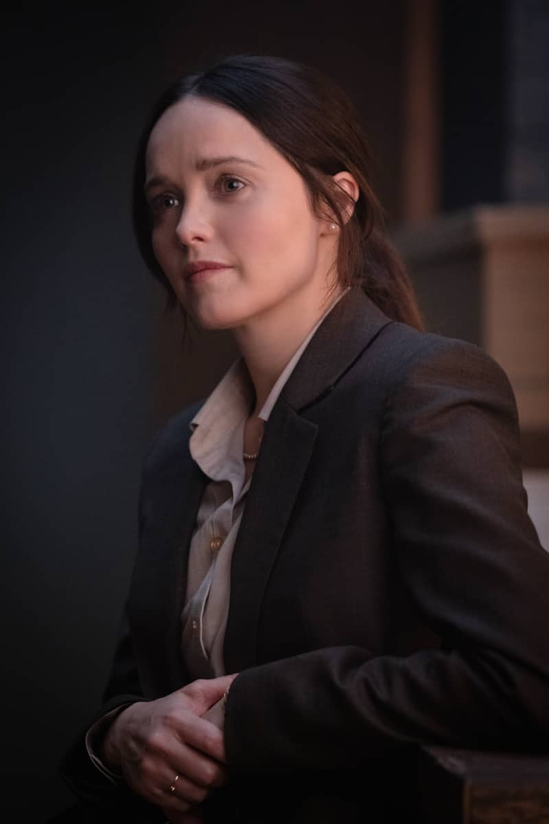 "Clarice Season 1 Episode 4 ""You Can't Rule Me"" - Pictured Rebecca Breeds as Clarice Starling"