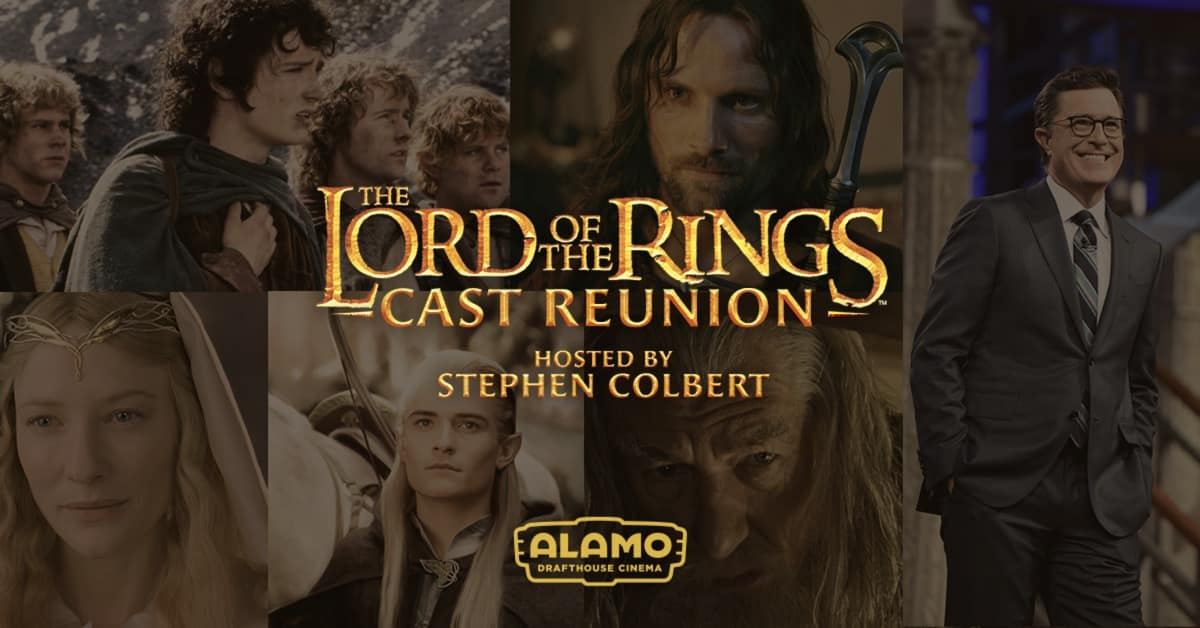 Lord Of The Rings Reunion Alamo Drafthouse