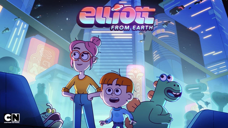 Elliott From Earth Key Art
