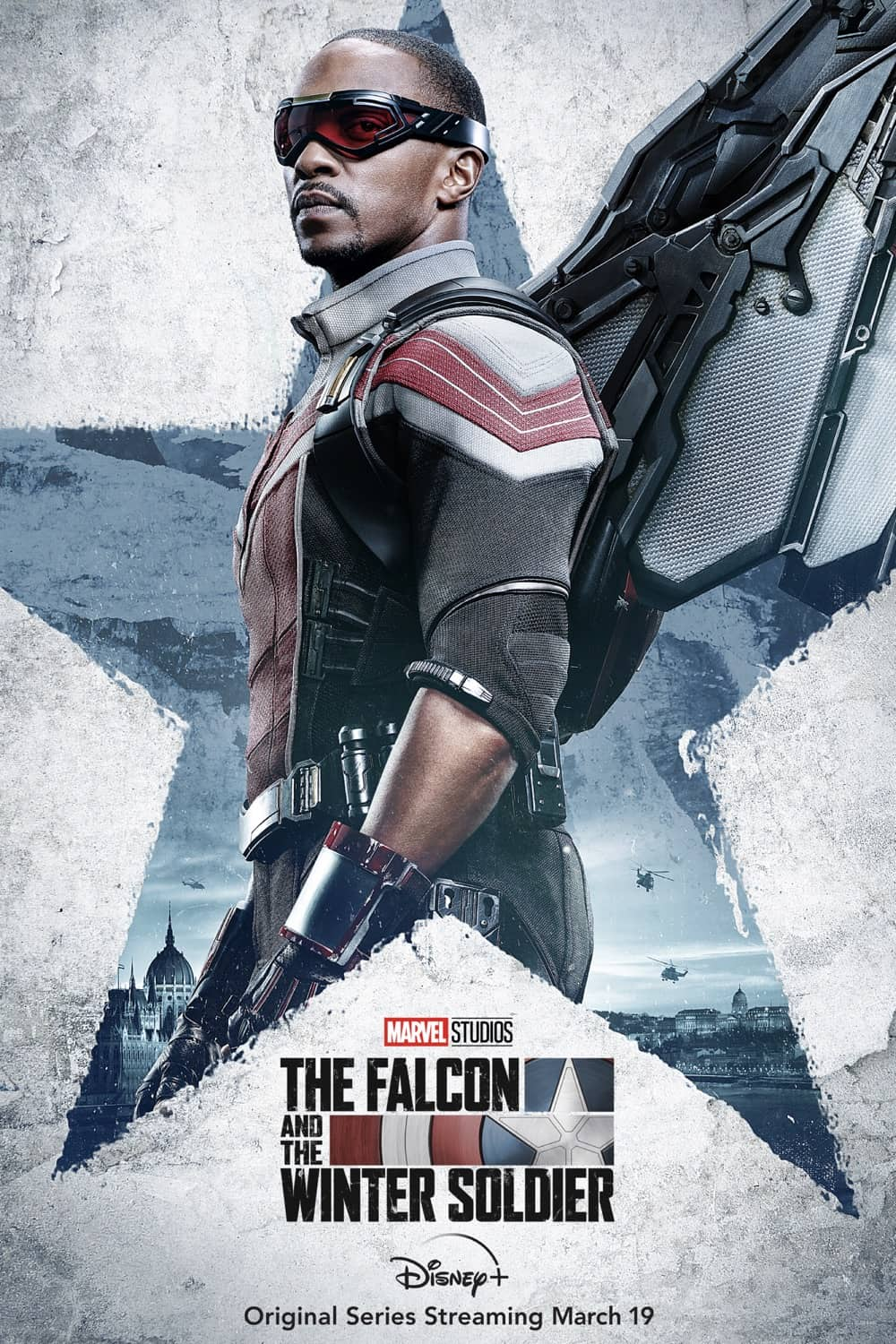 Anthony Mackie as Sam Wilson/ The Falcon The Falcon And The Winter Soldier Character Poster