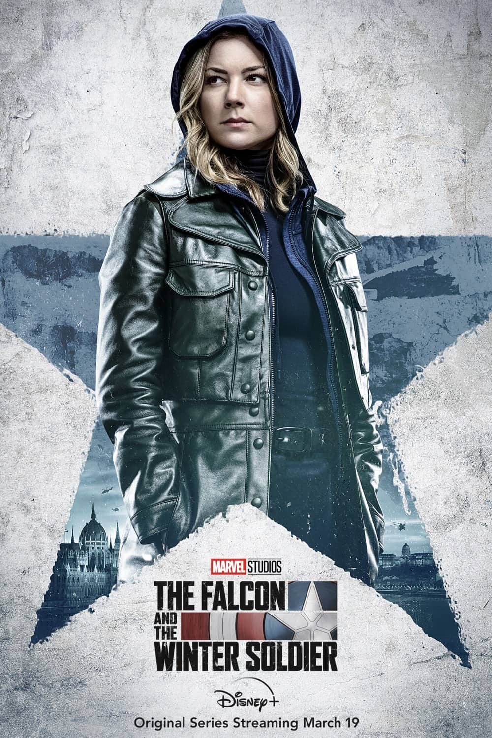 Emily VanCamp as Sharon Carter The Falcon And The Winter Soldier Character Poster
