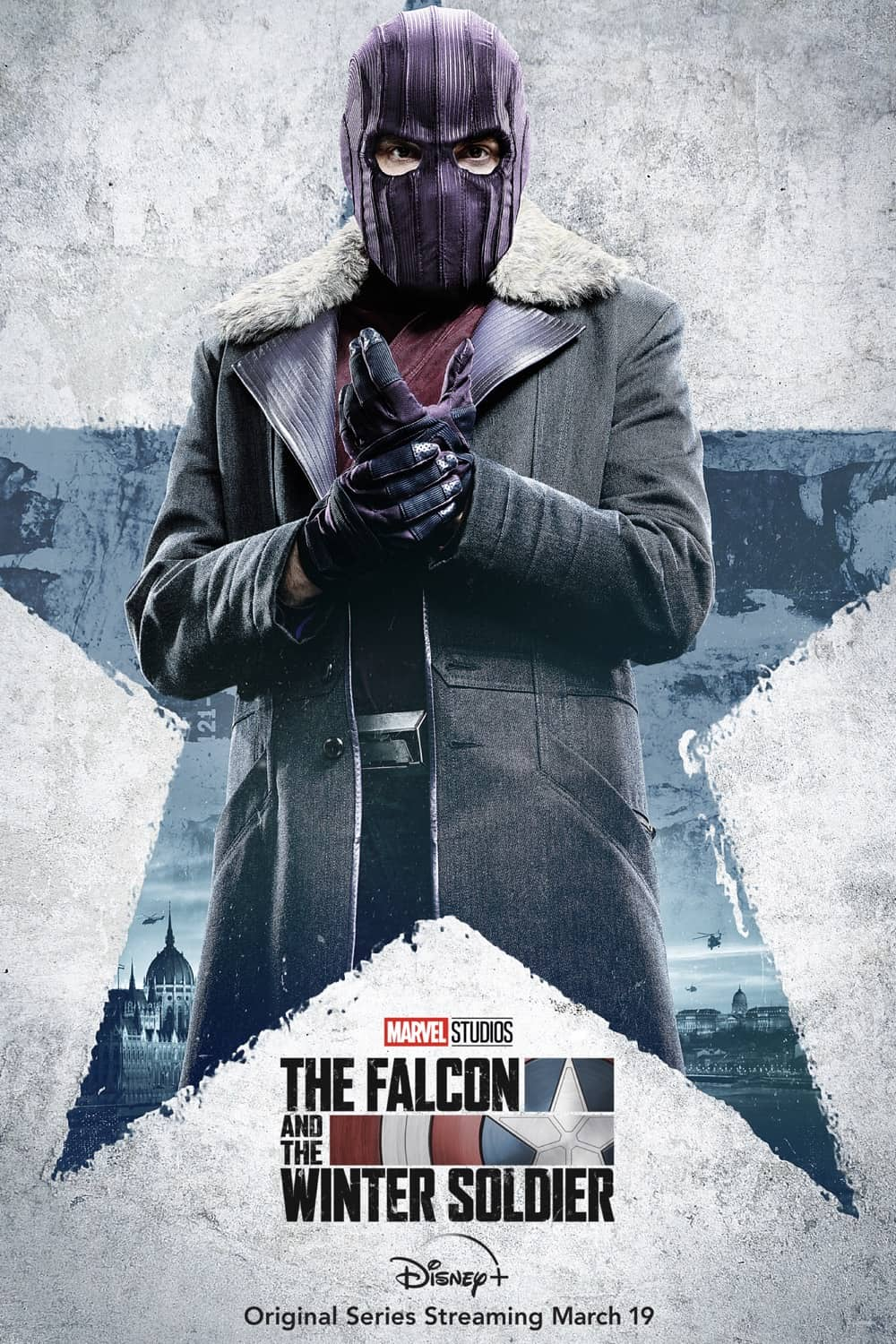 Daniel Brühl as Zemo The Falcon And The Winter Soldier Character Poster
