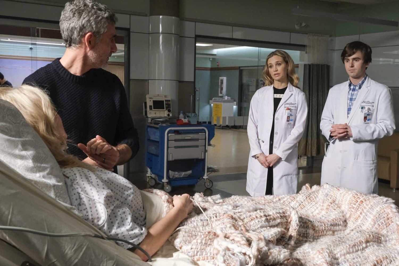 "The Good Doctor Season 4 Episode 11 ""We're All Crazy Sometimes"" –  FIONA GUBELMANN, FREDDIE HIGHMORE"