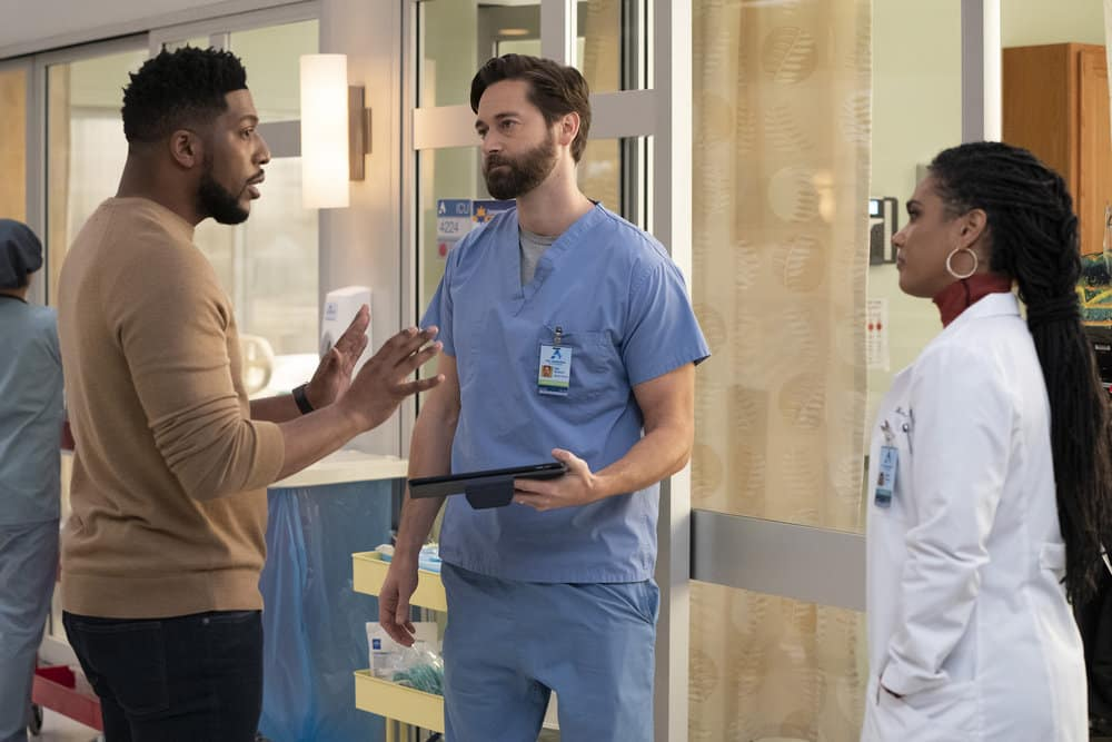 NEW AMSTERDAM Season 3 Episode 2 Photos Essential Workers