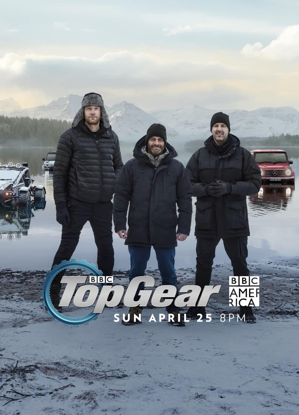 Top Gear Season 30 Poster