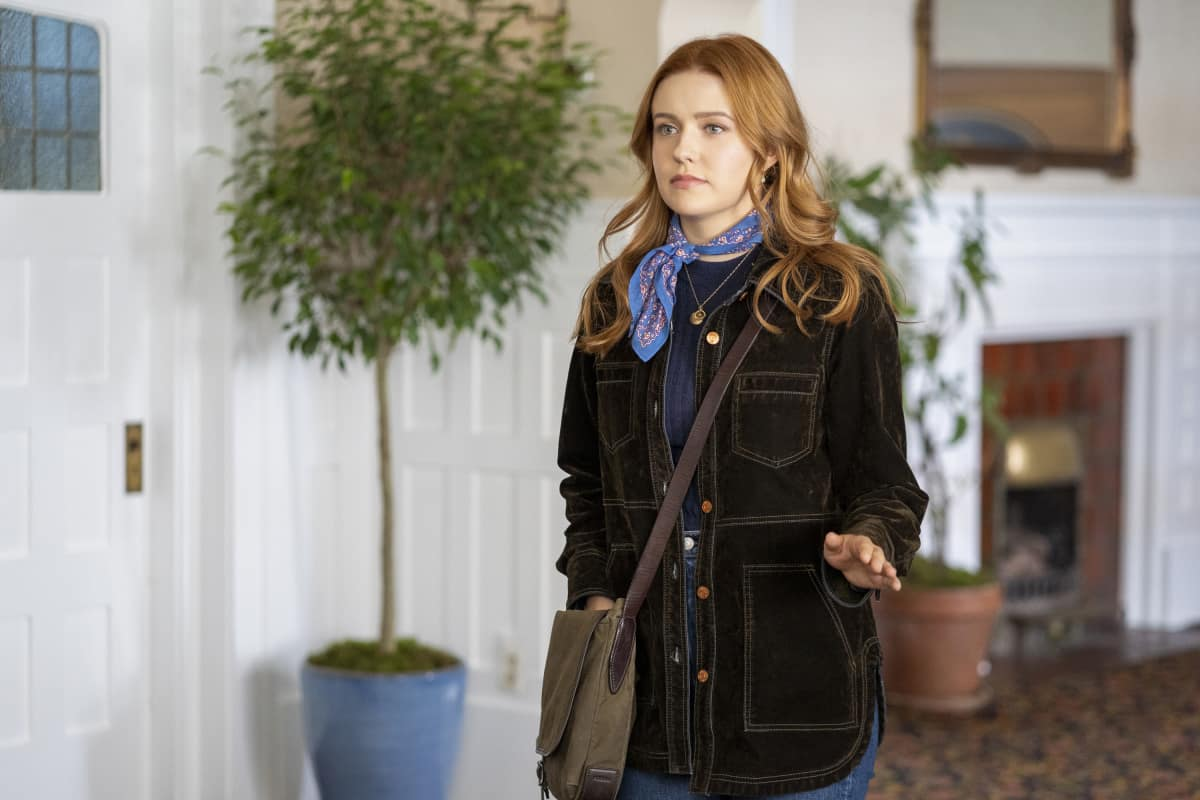 "Nancy Drew Season 2 Episode 7 -- ""The Legend of the Murder Hotel"" -- Image Number: NCD207a_0014r.jpg -- Pictured: Kennedy McMann as Nancy"