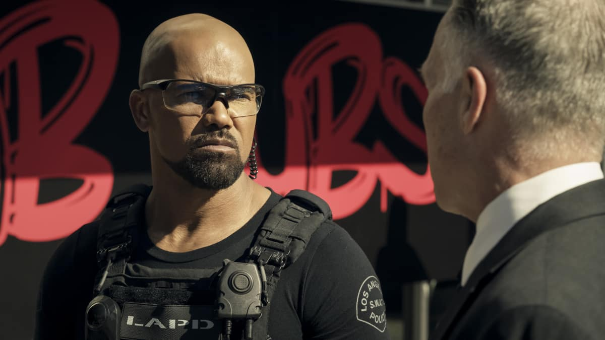 "SWAT Season 4 Episode 11 ""Positive Thinking"" - Pictured (L-R): Shemar Moore as Daniel ""Hondo"" Harrelson"